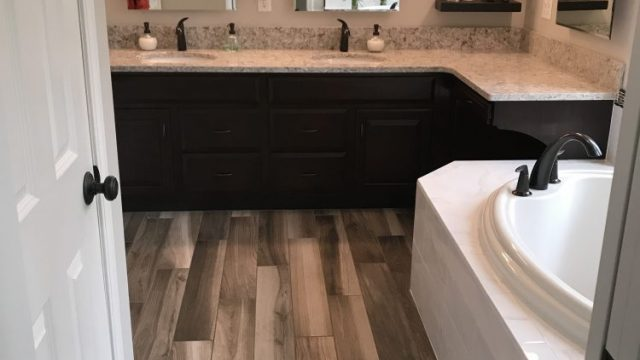 Wood-look tile Richland Michigan