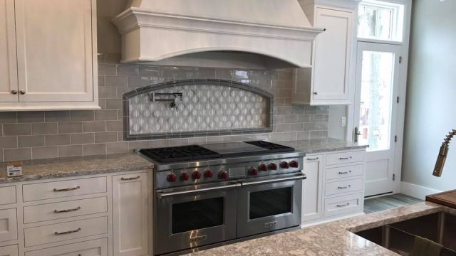 custom kitchen tile richland michigan