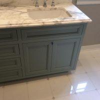 bathroom vanity marble countertop and tile richland michigan
