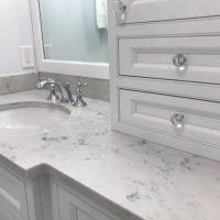 custom counter and cabinet hardware bathroom kalamazoo