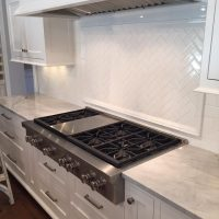 custom kitchen counter tile backsplash richland michigan