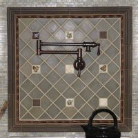 custom tile nature accents